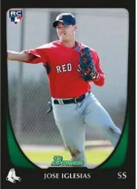 2011 Bowman Chrome Draft Jose Iglesias Rookie RC