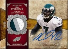 2011 Topps Five Star Michael Vick Signature Patch Auto