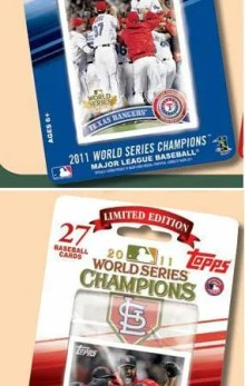 2011 Topps World Series Team Set St. Louis Cardinals