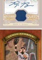 2012 Topps Gypsy Queen Josh Hamilton Glove Stories