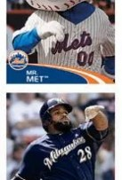 2012 Topps MLB Baseball Sticker Prince Fielder