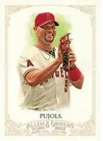 2012 Topps Allen & Ginter Baseball Albert Pujols Base