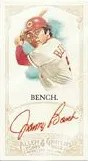 2012 Topps Allen & Ginter Johnny Bench Red Autograph