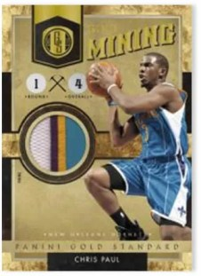 2010-11 Panini Gold Standard Mining Chris Paul Patch Jersey Card