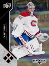 2011-12 Upper Deck Black Diamond Carey Price Card
