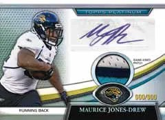 2011 Topps Platinum Marice Jones Drew Autograph Patch Card