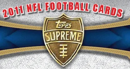 2011 Topps Supreme Football