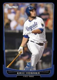 2012 Bowman Eric Hosmer Base Card