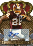 2011 Panini Crown Royale Roy Helu Jr Autograph Card