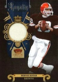 2011 Panini Crown Royale Bernie Kosar Jersey Card #20