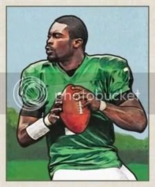 2011 Topps 1950 Bowman Michael Vick Insert Card