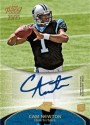 2011 Topps Prime Cam Newton Autograph RC Card