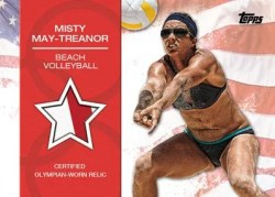 2012 Topps USA Olympics Misty May Treanor Game Used Card