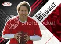 2011 Sage Autographed Blaine Gabbert Rookie RC