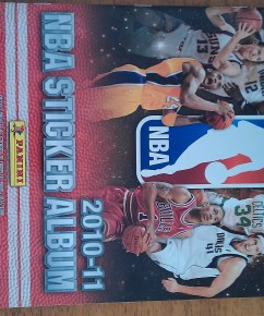 2010-11 Panini NBA Sticker Album