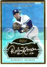 2011 Topps Marquee Roberto Alomar Autograph /10