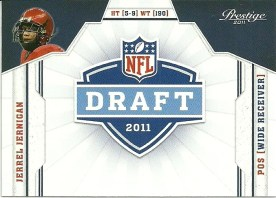 2011 Prestige Jerrel Jernigan Draft Rookie RC Card