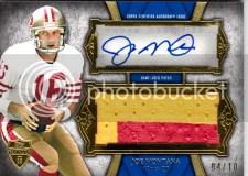 2011 Topps Supreme Joe Montana Autograph /10