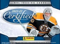 2011-12 Panini Certified Hockey Sell Sheet