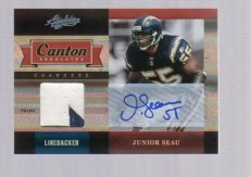 2011 Panini Absolute Canton Junior Seau