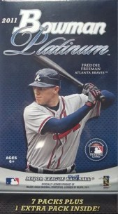 2011 Bowman Platinum Baseball Retail Blaster Box