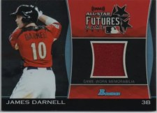 2011 Bowman Draft James Darnell Jersey Futures Game