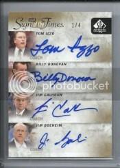 2011-12 Sp Authentic Quad Autograph