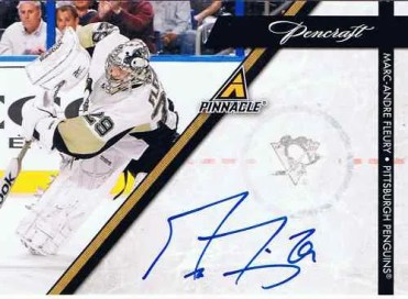 2010-11 Pinnacle Pencraft Marc Andre Fleury