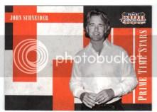 2011 Panini Americana John Schneider Prime Time Stars