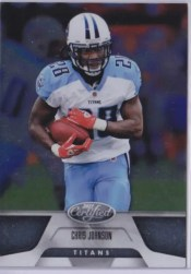 2011 Panini Certified Chris Johnson Base Card
