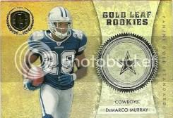 2011 Panini Gold Standard Gold Leaf Rookies DeMarco Murray Insert Card