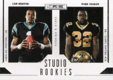 2011 Panini Rookies & Stars Studio Rookie Dual Card