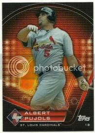 2011 Topps Prime 9 Albert Pujols