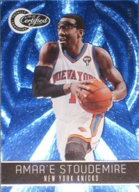10-11 Panini Certified Amare Stoudemire Blue /299