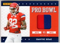 2011 Panini Black Friday Dwayne Bowe Pro Bowl Jersey