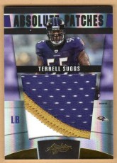2011 Panini Absolute Patches Terrell Suggs