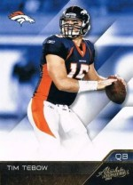 2011 Playoff Absolute Tim Tebow Base Card