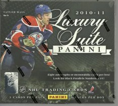 2010-11 Panini Luxury Suite Hockey Box