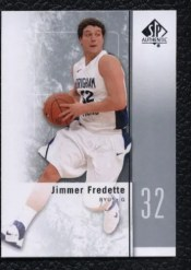 2011-12 Sp Authentic Jimmer Fredette Rookie RC