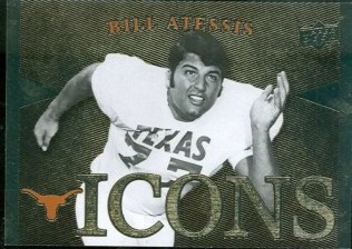 2011 Upper Deck University Of Texas Longhorns Icons Card