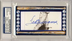 2011 Historic Autographs 1960s Ted Williams Autograph