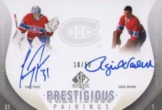 2010-11 Sp Authentic Prestigious Pairings Dual Autograph