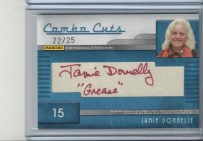 2011 Panini Combo Cut Autograph Card Grease