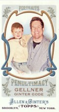 2011 Allen and Ginter Mike Gellner Mini
