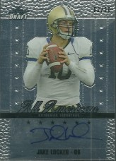 2011 Leaf Metal Draft Jake Locker All Americans Auto