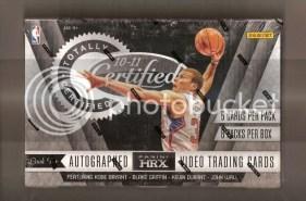 2010-11 Panini Certified Basketball Hobby Box