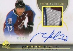 2010-11 Sp Authentic Milan Hekduk AUTO PATCH