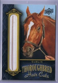 2011 Goodwin Thoroughbred Hair Card Curlin