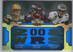 2011 Topps Triple Threads Relic Combo Cobb/Nelson/Royal