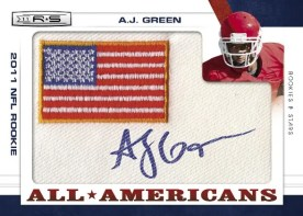 2011 Panini Rookies & Stars A.J. Green All American